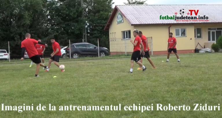 VIDEO. Reportaj de la Ziduri. Roberto se pregatește să promoveze in Liga a 3-a