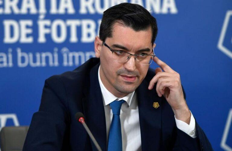Răzvan Burleanu vine in această seară la Târgoviște. De ce vine președintele FRF