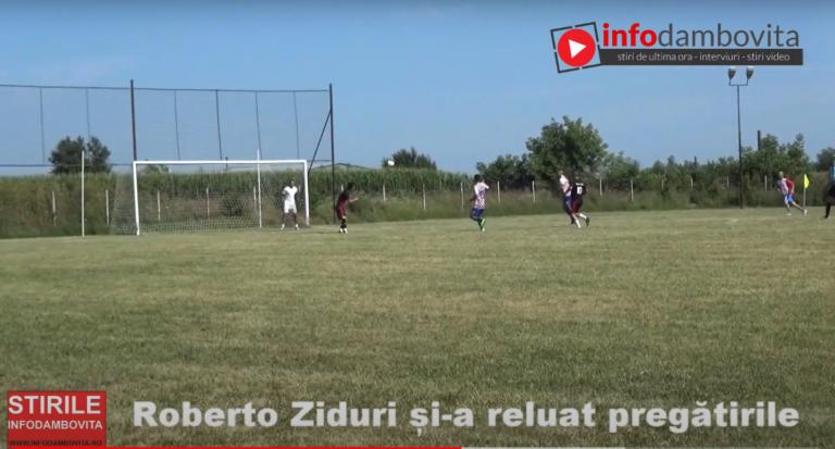 VIDEO. Roberto Ziduri și-a reluat pregătirile. A invins in primul amical pe Flacăra Șuța Seacă